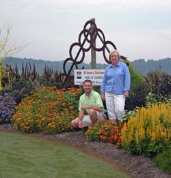 UT Gardens Director and UT Gardens Jackson Site Manager