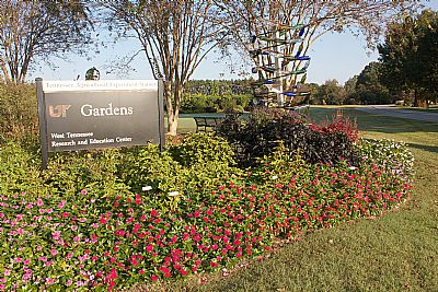 UT Gardens Jackson Entrance SIgn
